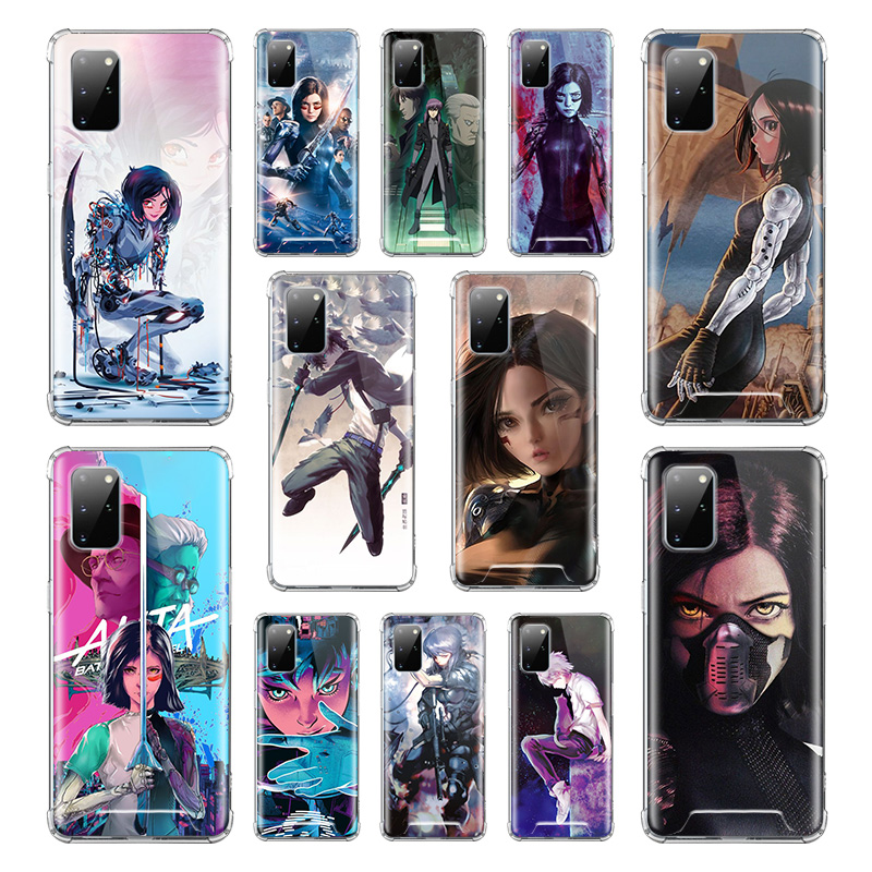 <font><b>Ghost</b></font> <font><b>In</b></font> <font><b>The</b></font> <font><b>Shell</b></font> <font><b>Case</b></font> For Samsung Galaxy S20 Ultra S10 Plus 5G S10e S9 S8 Note 9 10 Lite Airbag Anti Fall TPU Covers image