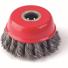 Manufacturers Direct Selling Zhuobang Brand 2.5-Inch 65MM Wire Bowl Wire Wheels Wire Brush Polishing Velcro