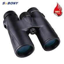 SVBONY polowanie lornetki 8X42/10X42/8X32 BAK4 pryzmat SV47 HD teleskop z powiększeniem wysokiej moc wodoodporne lornetki nocna wizja na biwakowanie, wędrówki, strzelanie, turystyka, oglądanie gry sportowej i koncertów