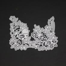 AZSG Grass leaves Cutting Dies Clear Stamps For DIY Scrapbooking/Card Making Decorative Silicone Stamp Crafts