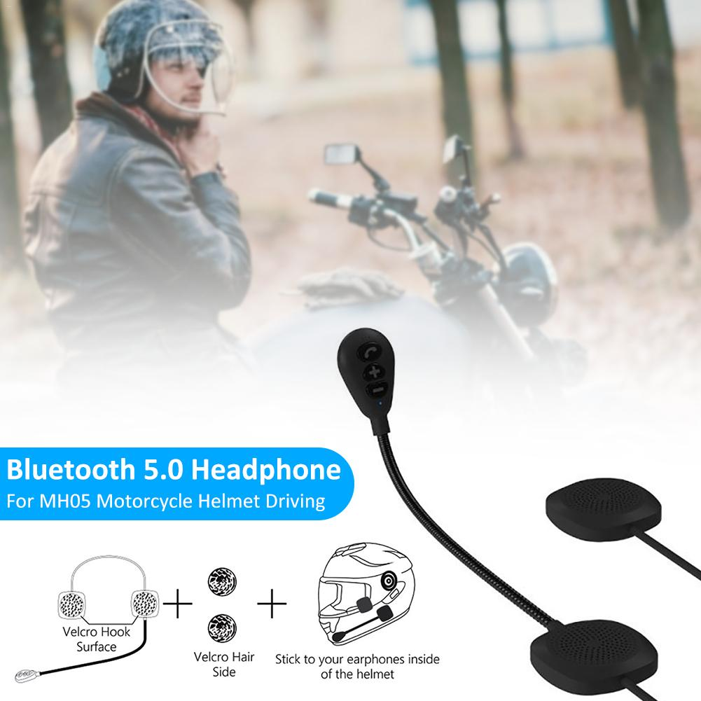 Bluetooth Hands-free Headphone Anti-interference Headset For MH05 Motorcycle Helmet Driving