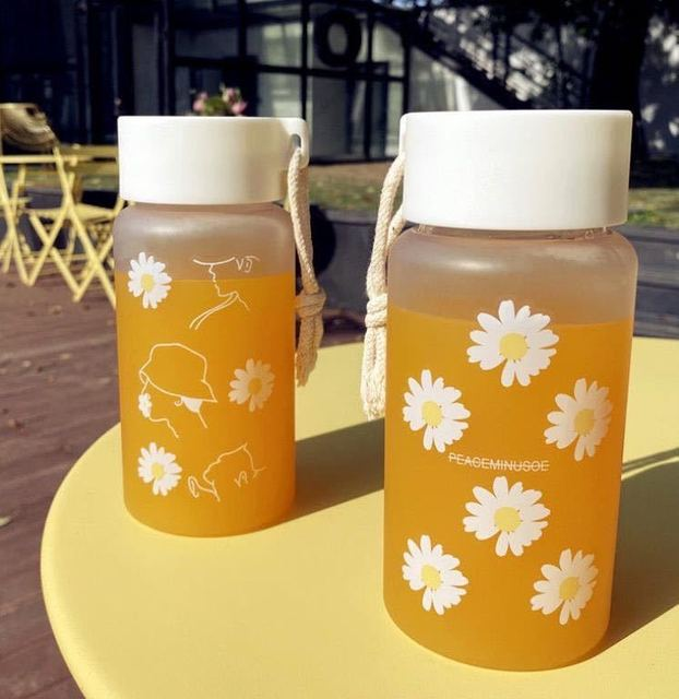 Creative matte Water Bottle 6