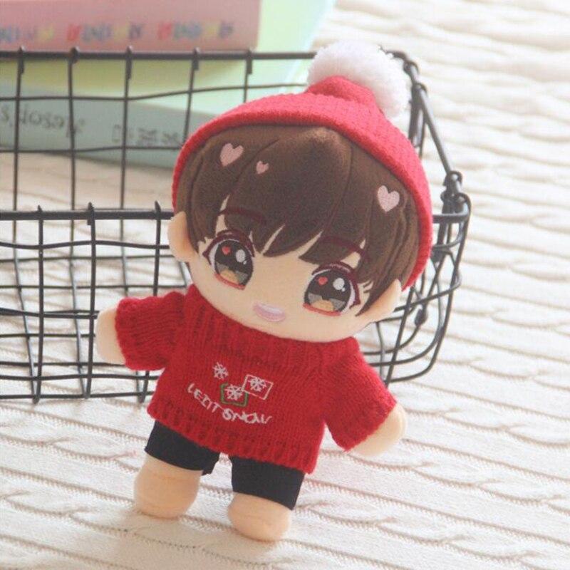 22cm Plush Doll New Kpop Boys Vapp Pillow Same Stuffed Plush Back Doll Christmas/Valentine's Day Gifts