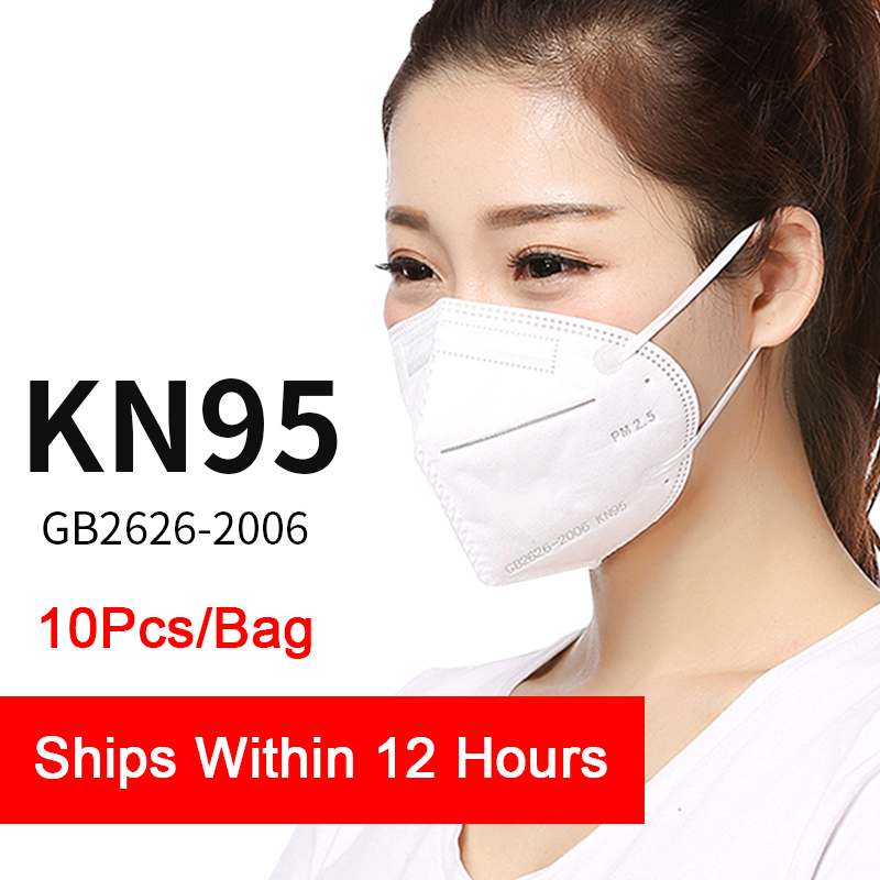 566.28грн. 30% СКИДКА|10PCS N95 Mask CE Certificate Mouth Face Mask Dust Anti Infection KN95 Masks Respirator PM2.5 Same Protective As KF94 FFP2|Маски| |  - AliExpress