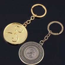 SG Cthulhu Mythos Keychain The King in Yellow Thom Ryng Hastur Miskatonic I AM PROVIDENCE Badge Men Keyring Game Jewelry Gift