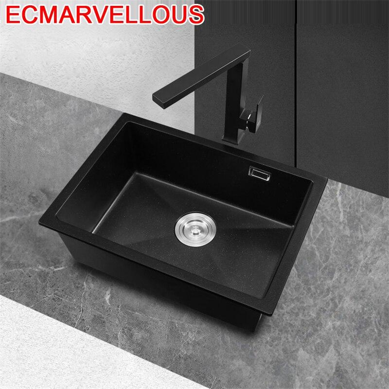 Black Portable Lavello Wasbak Banheiro Zlewozmywak Keuken Gootsteen Dissipador Cuba Pia Cozinha Fregadero De Cocina Kitchen Sink