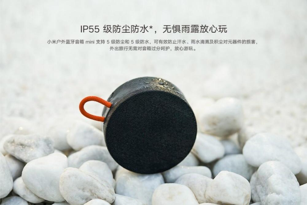 Xiaomi Outdoor Bluetooth speaker Mini Portable Wireless IP55 dustproof waterproof Speaker MP3 Player Stereo Music surround Speakers (10)