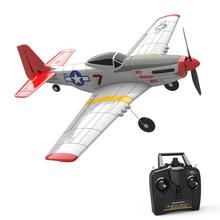 Airplane Volantex RTF P-51D Mustang Aerobatic with 6-Axis-Stabilizer-System And One-Key