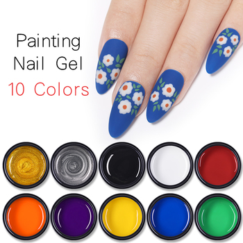 1 Box 5g Lemooc Nail Painting UV Gel Polish Spider Gel Painting Nail Art UV Gel Wire Drawing Elasticity Point Line Soak Off Gel