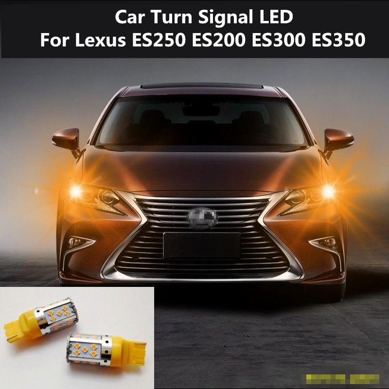 2PCS Car Turn Signal LED Command light headlight modification 12V 10W 6000K For Lexus ES250 ES200 ES300 ES350