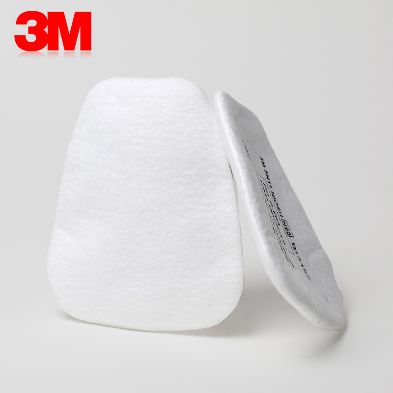 Image 3 - 10pcs 3M 5N11 Filter Cotton Gas Mask Respirator Replace Fitting Suit 3M 6000 7000 Series Dust Mask Paint Spraying Face WorkChemical Respirators   -