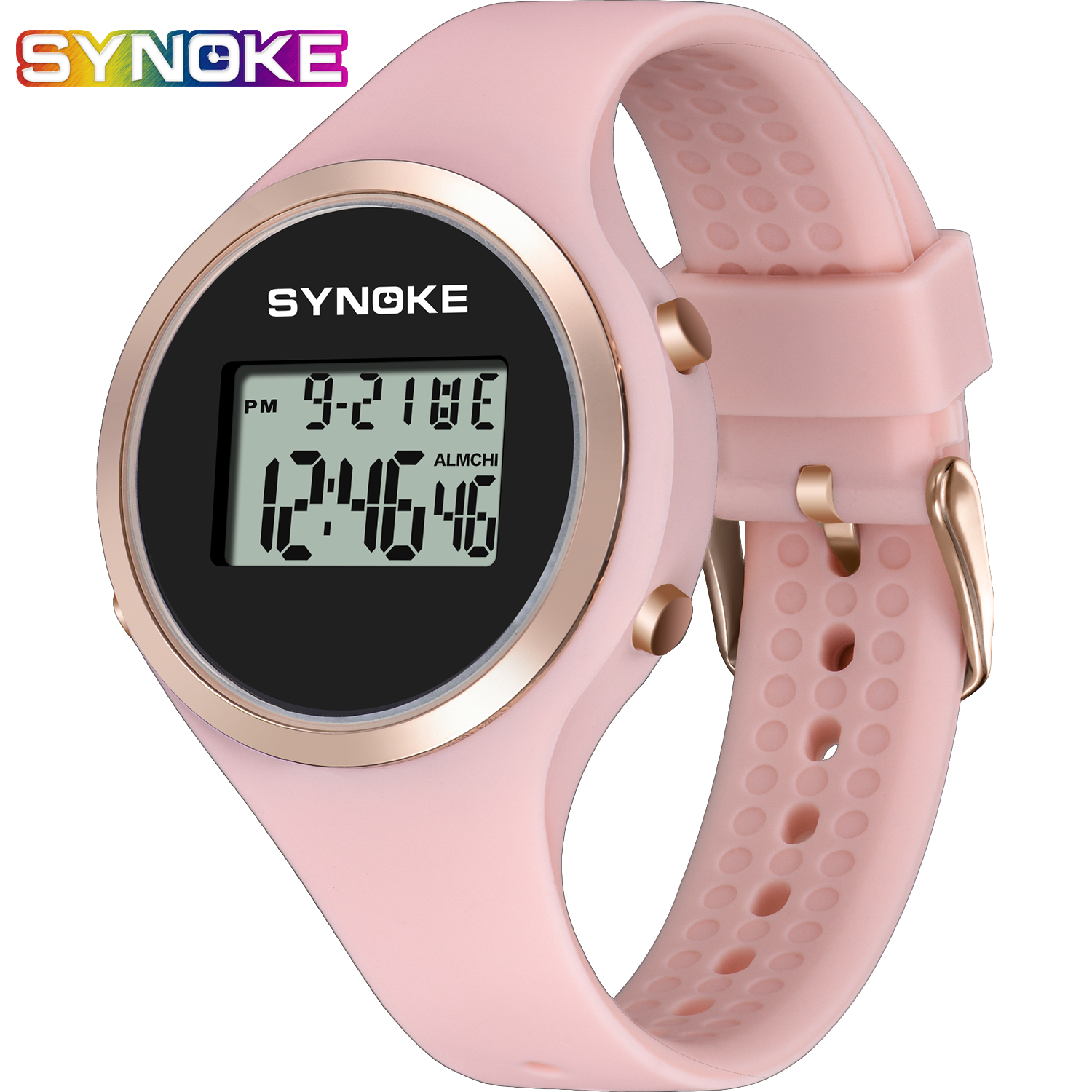 Swim Children Digital Watches Sport LED Digital Fashion Waterproof Chronograph Fitness Swimming Diving Hand Clocks Kids Watch