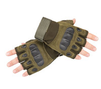 Military Tactical Gloves Half Finger SWAT Gloves Gym Fitness Shooting Paintbal Combat Gloves Outdoor Sport Riding Bicycle WA 014