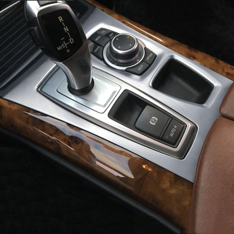 Chrome Interior Central Air Vent Outlet Cover Trim For BMW X5//X6 E70//E71 2008-14