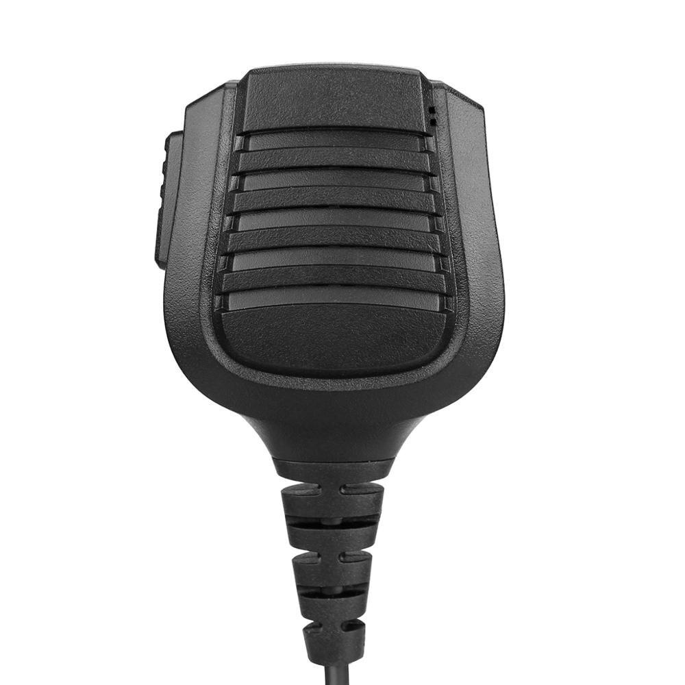 New Upgraded IP67 Waterproof PTT Speaker Microphone for Ailunce HD1 Retevis RT29/RT87/RT82 Two Way Radio Walkie Talkie