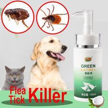 Блох убить нетоксического любимчика собака кошка анти киллер убивает клещей клещ блохоловку кокосовое масло спрей