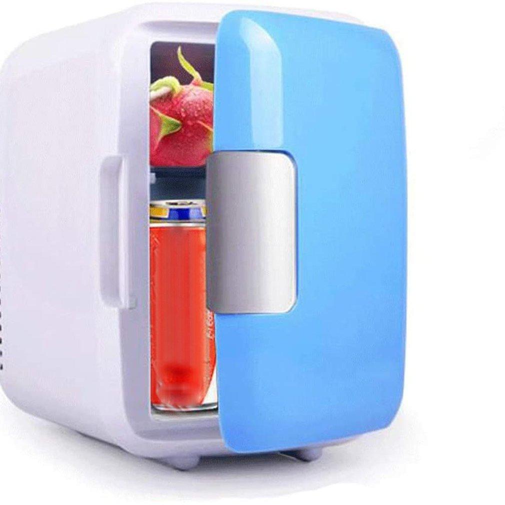 Must-have In Summer! 4L Mini Fridge Refrigerator Portable Car Freezer Car Refrigerator Cooler Heater Universal Vehicle Parts