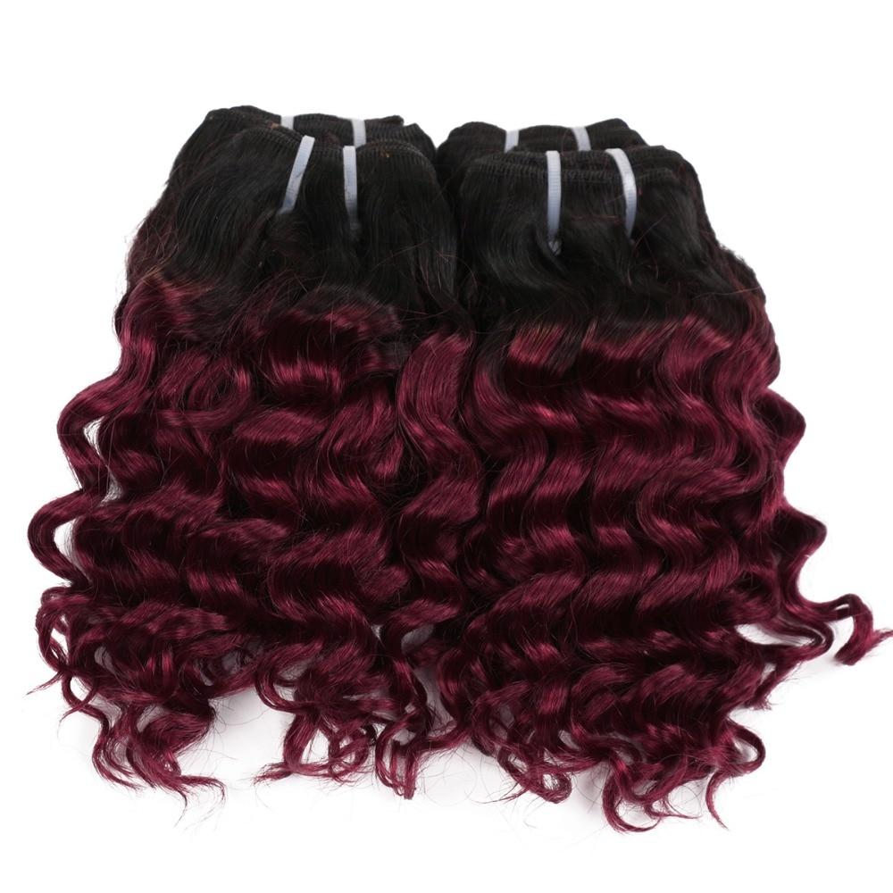 cabelo humano 50g dois tons mel loira tecer cabelo brasileiro
