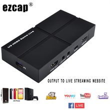 Card-Phone Game-Recording Video-Capture Live-Streaming-Device Audio-Out HDMI Ezcap To