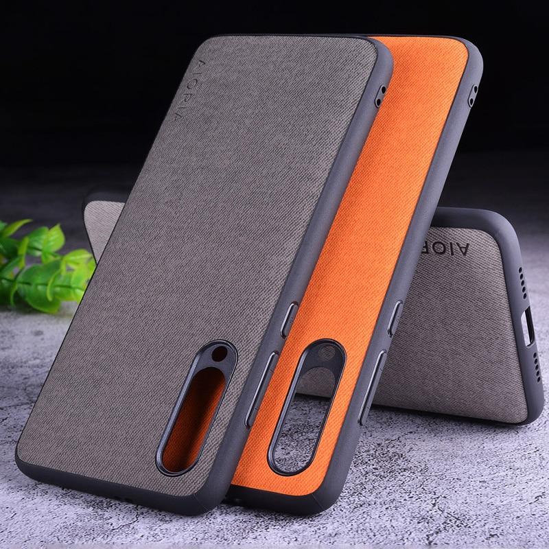 Textile Case for Xiaomi mi9 SE Lite mi9T mi 9 8 9T pro mi8 Mix 2S Max Note 10 3 5 A1 A2 A3 Redmi 6 6A 7 7A 8 8A 8T K30 5G fundas(China)