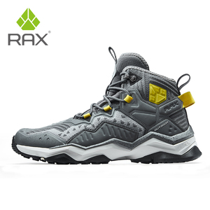Image 4 - Кроссовки RAX мужские и женские кожаные, водонепроницаемая обувь для походов и отдыха на открытом воздухе
