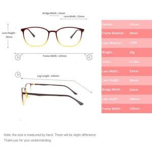Image 3 - KANDREA 2020 Anti Blue Ray Eyeglasses Frame Acetate Square Glasses Frames Anti Blue Light Eyewear Clear Lens Optical Spectacles