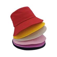 Women Various Colors Bucket Hats Men Hip Hop Fisherman Fashion Cotton Outdoor Summer Casual Swag Bob Visor Caps