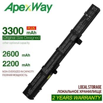 ApexWay 14.4V 3300mAh A41N1308 A31N1319 batterie d'ordinateur portable pour Asus X451 X551 0B110-00250100 X551M X451C X451CA X551C X551CA SÉRIE