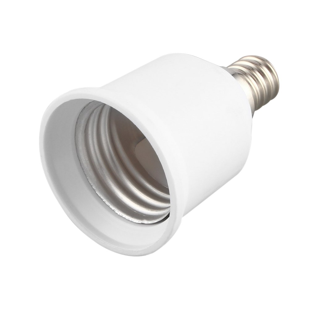 1pcs <font><b>E12</b></font> to E27 <font><b>Socket</b></font> Light Bulb Lamp Holder Adapter Plug Extender Lampholder Newest Hot Search image