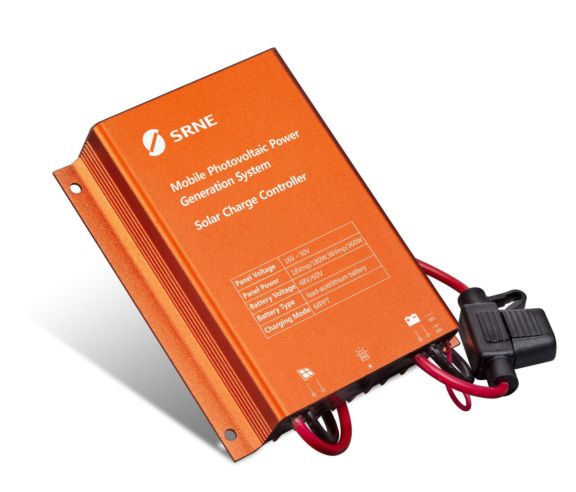 MPPT Solar Laderegler Wasserdicht 8A Solar Panel Regler für 48V 60V Blei Säure Und Lithium-Batterie IP67 schritt Up Ladegerät