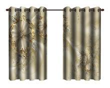 Пользовательские 3d занавески фантазия цветы ювелирные изделия