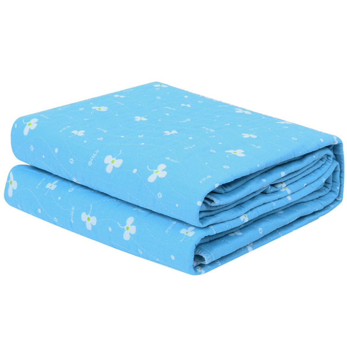 3-layer Reusable Bedsheet Underpad Absorbent Mattress Protector Washable Urinal Mat Diaper Waterproof Kid Adult Incontinence Pad
