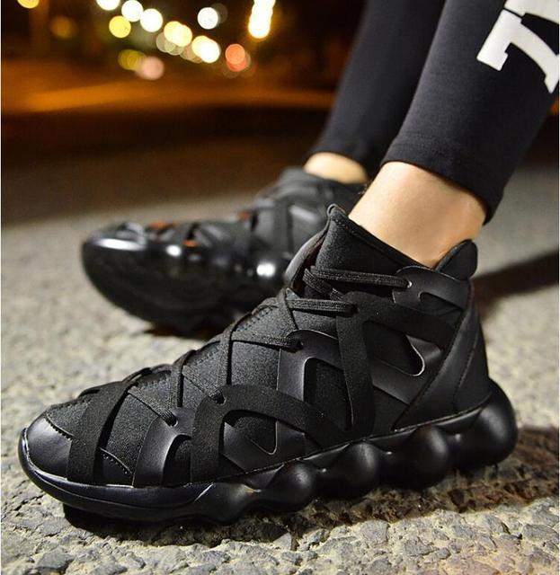 shoes black warrior ninja shoes autumn