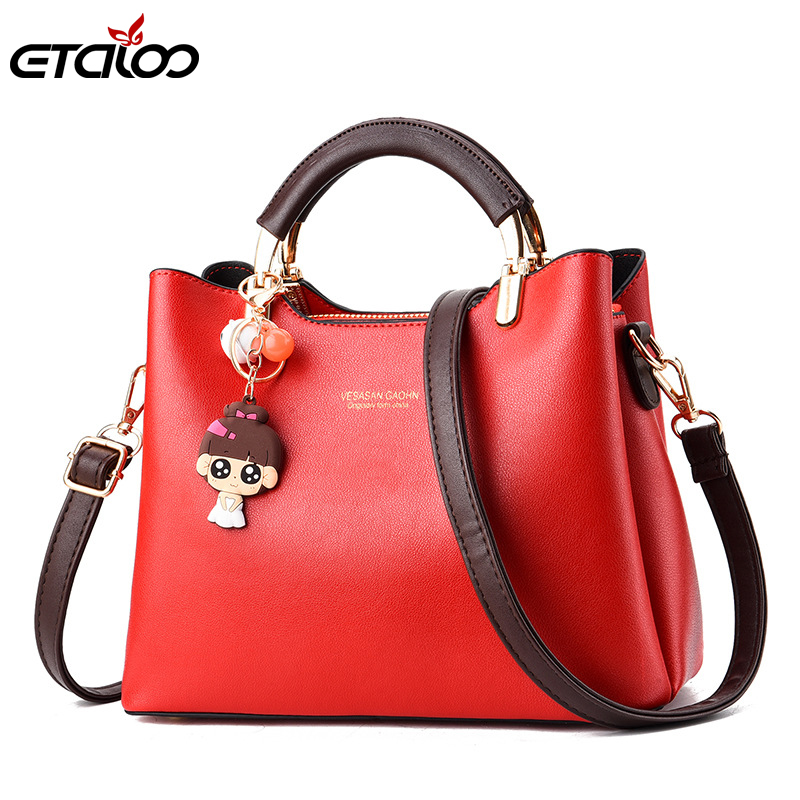 2020 New Handbag Women's Bag  Europe And The United States Fresh Sloping Steel Clip Small Bag Women's Bag