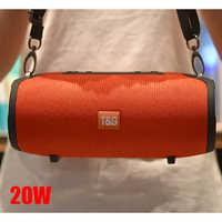 20 w bluetooth peaker coluna portátil leitor de música sistema som boom caixa com rádio fm aux tf subwoofer caixa som tg125