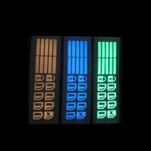 Автомобильная дверь окно светящаяся Кнопка стикер подъем окна светящаяся наклейка для Hyundai Elantra Accent Tucson i40 Veloster IX35 Solaris