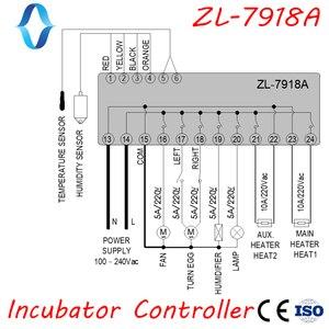 Image 3 - Xm 18, ZL 7918A, controlador da incubadora de ovos, controlador automático da umidade da temperatura multifuncional, 100 240vac, ce, iso, lilytech, xm 18