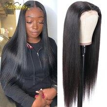 Nadula прямые волосы глубокая часть кружева передние al парики 13X1 человеческие волосы кружево передний парик T часть кружева передние предвари...