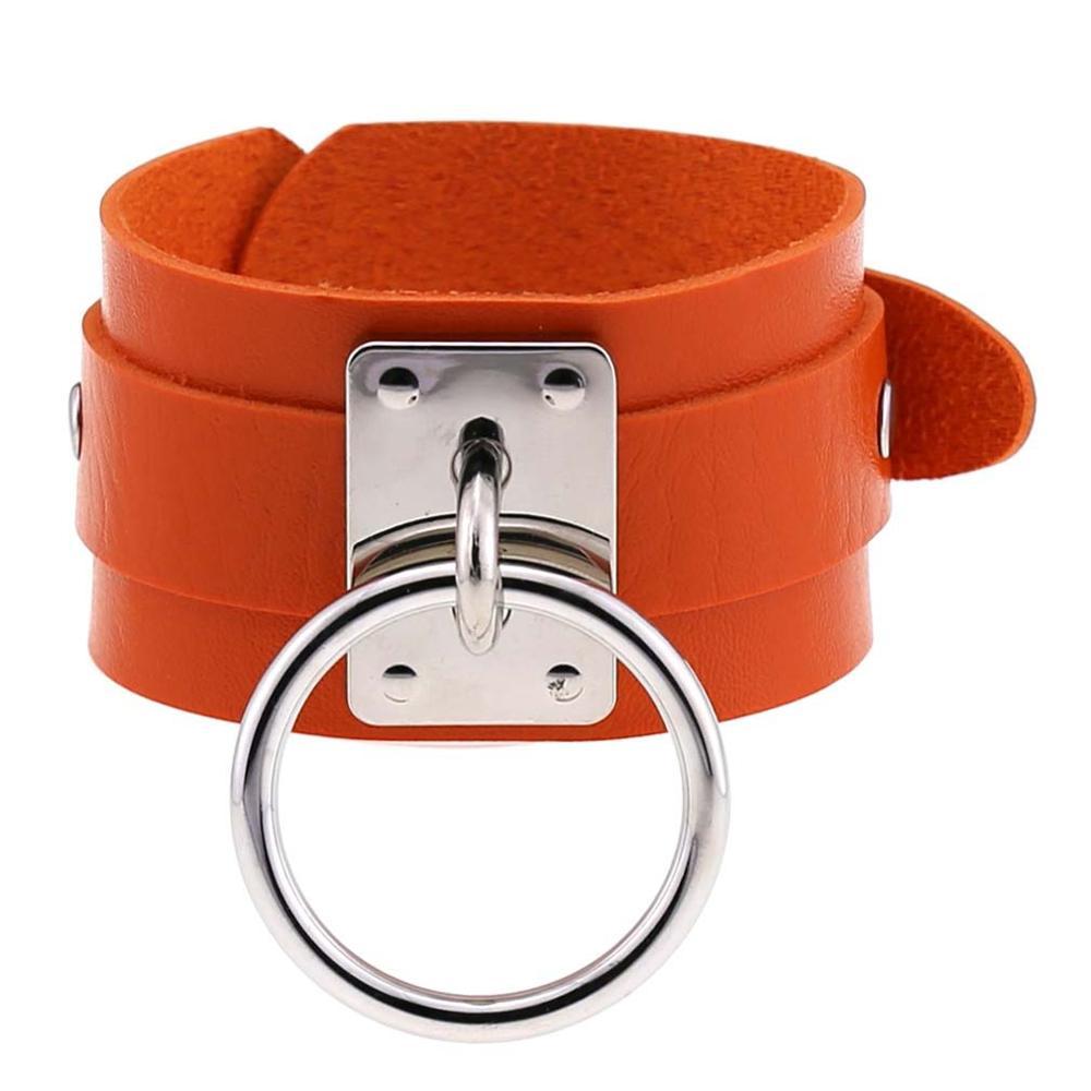 Silver Orange Brace