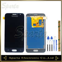 TFT Getestet LCD Für SAMSUNG Galaxy J1 2016 LCD J120 J120F j120M J120H Display Bildschirm Mit Touchscreen Sensor Komplette montage