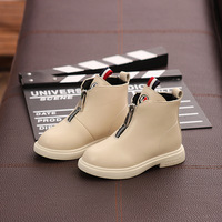 Autumn 2019 New Girl Martin Boots, Children's Flannel Cotton Boots, Baby Fashion Shoes, Princess Boots and Children