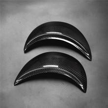 Farol de fibra de carbono capa sobrancelhas pálpebras para vw volkswagen novo besouro 1998 2011