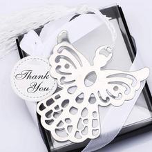 Святой ангел-хранитель сплав Закладка кисточки стационарный крестины свадебный подарок(Цвет: серебро) SL