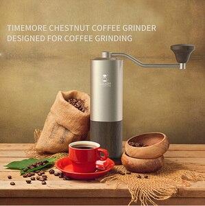Кофемолка timeore Chestnut G1 с титановым покрытием, супер ручная кофемолка для ручного капельного эспрессо