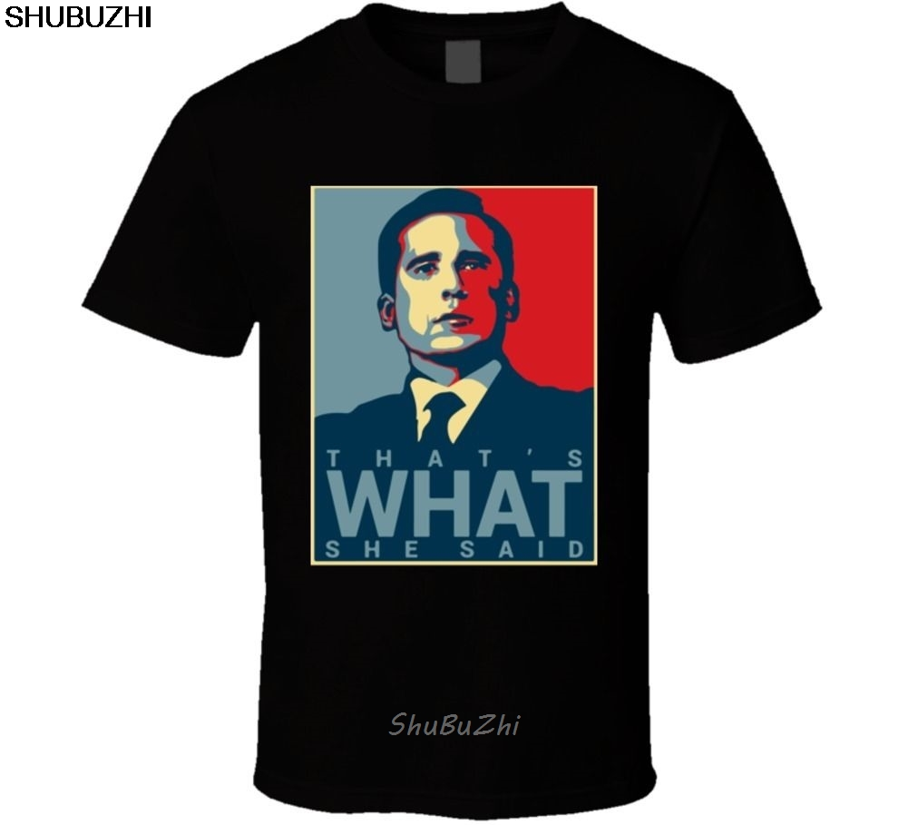 The Office T-shirt That's What She Said Tee Funny Tv Show Cool Casual Pride T Shirt Men Unisex New Fashion Tshirt Free Sbz3234