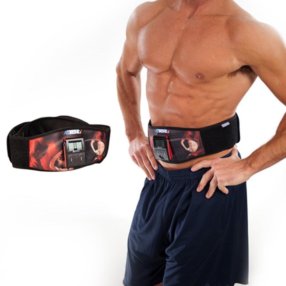 Tronic X2 Waist Trimmer AB Belt Weight Loss Abdominal Muscle Back Supporter Sports Belts