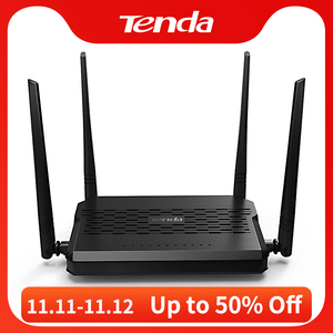 Tenda D305 ADSL2+ Modem Wireless WiFi Router 300Mbps Blazing-fast & Stable Adsl 2+ Modem Router, Broadband CPE/Remote Management
