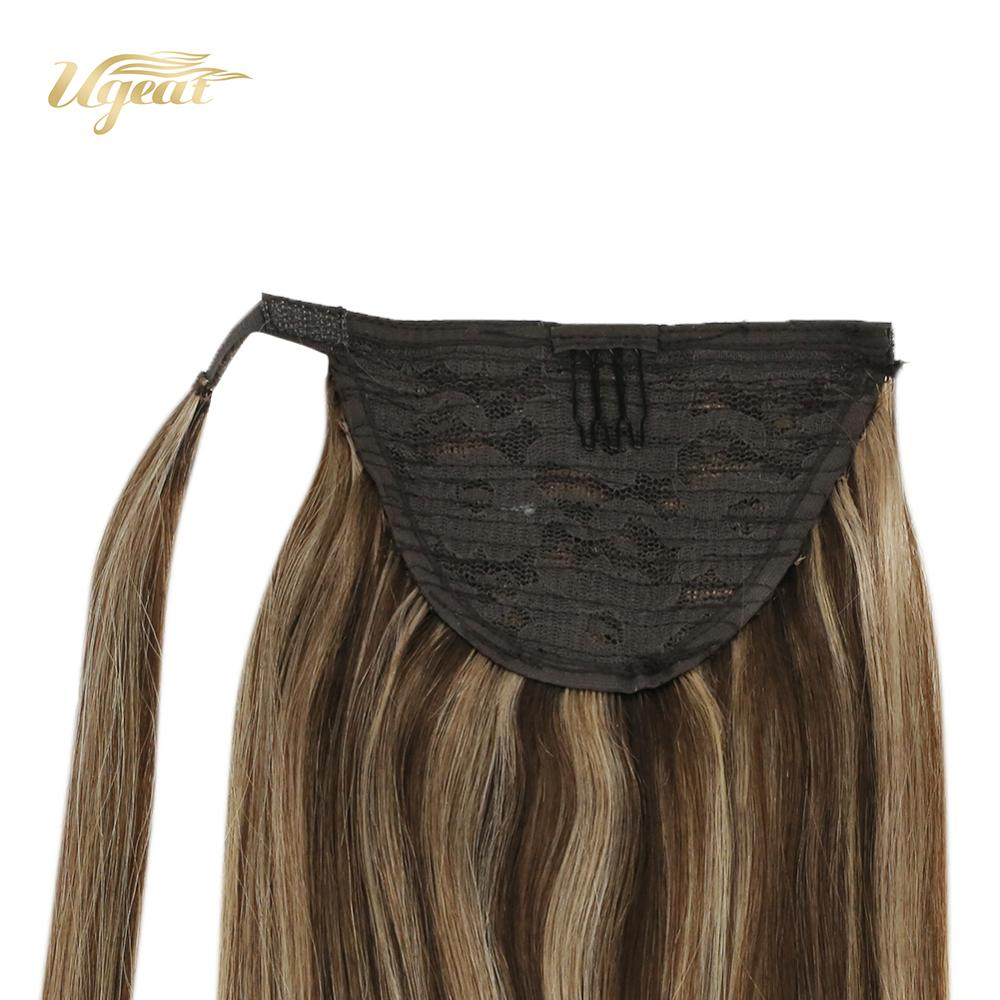 Ugeat Clip On Ponytails 14-24