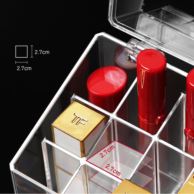 Пыленепроницаемая 18 Сетка губная помада глазурь для Губ Дисплей
