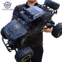 1:12 4WD RC versione di aggiornamento auto 2.4G radio telecomando auto giocattolo auto 2020 camion ad alta velocità fuoristrada giocattoli per bambini